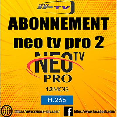 NEO TV PRO 2 VOD Androi Mag SMART tv