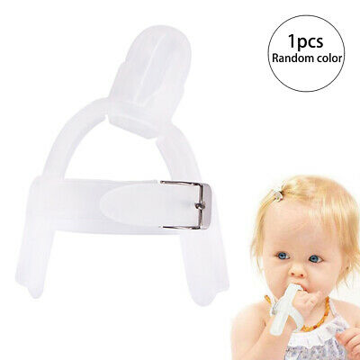 Non-toxic Silicone Kid Finger Guard Baby Wrist Band Treatment Stop Thumb Sucking
