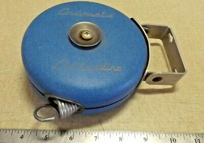 Vtg Cordomatic Clothesline Replacement Parts Decor Retractable Reel Camping Sporting Goods