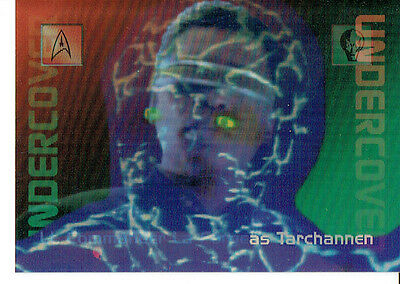 Star Trek 30 Years Phase 2 Undercover Card L7
