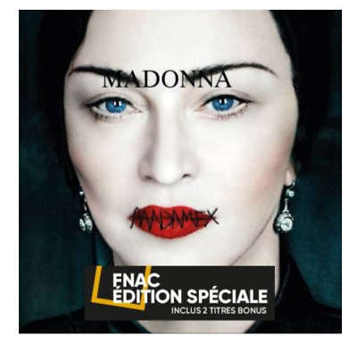 MADONNA MADAME X CD Pre-order Only French limited edition 2 Bonus Track Limitee