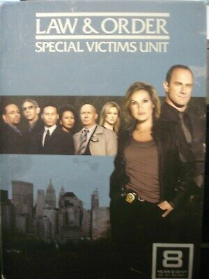 Law  Order: Special Victims Unit - The Eighth Year (DVD, 2009, 5-Disc Set)