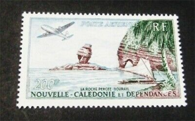 nystamps French New Caledonia Stamp # C27 Mint OG NH $34