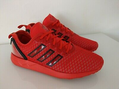 543dfb6f6e6ea MENS ADIDAS ZX Flux Red Trainers Size UK 8   EU 42 - Red  clear ...