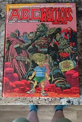 Vintage 2000AD ABC Warriors Book 2 Hardback Graphic Novel - 1st Edition 1983