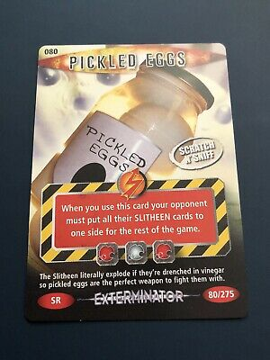 BBC Doctor Who Battle In Time Exterminator Pickled Eggs Super Rare 80/275