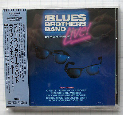 THE BLUES BROTHERS BAND - Live In Montreux JAPAN CD OBI WMC5-104