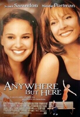Anywhere But Here Original Rolled Movie Poster 1999 Natalie Portman