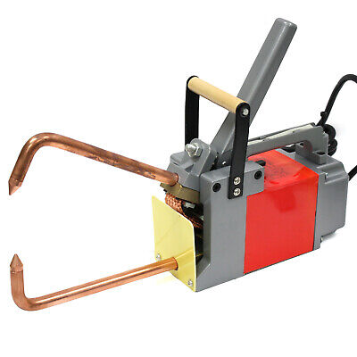 "Handheld Electric Spot Welder 6.6KW 1/8"" Welding Unit Metal Metalworking Tools"