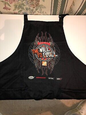 RARE Adult Home Depot Apron THE WILL TO GRILL 2011 DADS DAY HTF