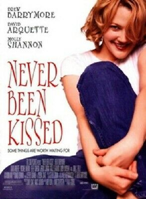 Never Been Kissed Original Rolled Movie Poster 1999 Drew Barrymoore