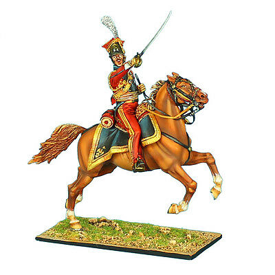 """NAP0418 2nd Dutch """"Red"""" Lancers of the Imperial Guard Officer by First Legion"""
