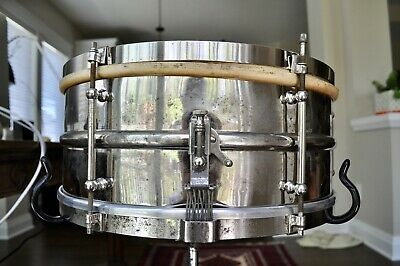 Ludwig All-Metal Separate Tension {BAND MODEL} Snare ~ 1910-1930