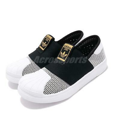 sale retailer b2438 787b3 adidas Originals Superstar SMR 360 C Black White Gold Kid Preschool Shoes  CG6987