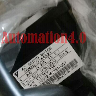 1PC USED Yaskawa servo motor SGMAH-02AAA21 Fully tested Fast delivery