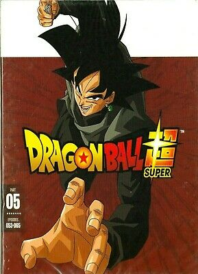 DRAGON BALL SUPER Part Five DVD Set Episodes 053-065 Anime Dragon Ball Z
