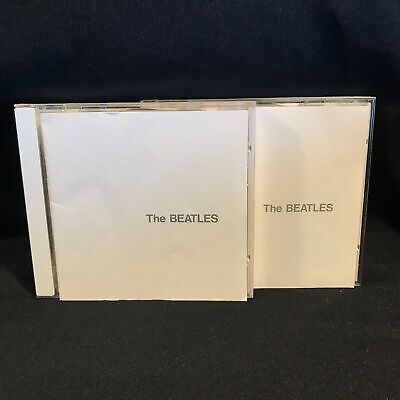 The Beatles White Album 2 CD Set NM 1992 Self-Titled Clapton Psychedelic