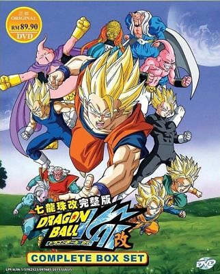 DVD Dragon Ball Z Kai ( Chapter 1-167 End ) English Version Complete TV Series