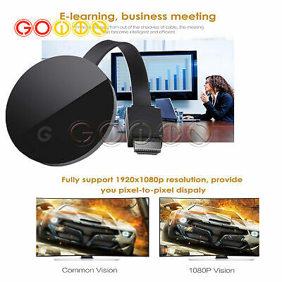 For Gogle Chromecast Chrome Cast Ultra 4K Digital Media Video Stream HDTV WiFi