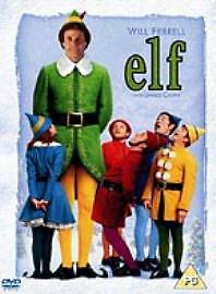 Elf DVD Will Ferrell and James Caan and Edward Asher. 2 disc DVD. Region 2