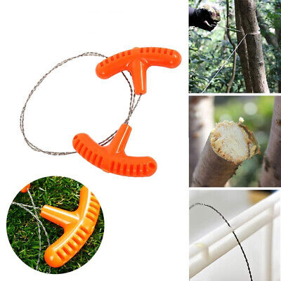 Trendy Wire Saw Camping Stainless Steel Emergency Pocket Chain Saw Survival Gear