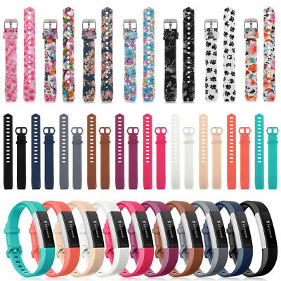 Replacement Silicone Wrist Watch Band Strap For Fitbit Alta & Alta HR Wristband
