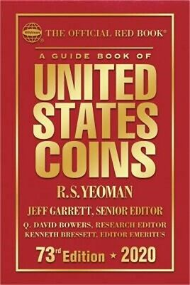 The Official Red Book: A Guide Book of United States Coins Hardcover 2020 73rd E