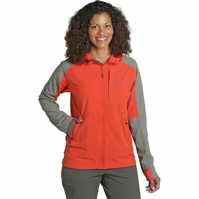 low priced 97480 5ebc8 OUTDOOR RESEARCH FERROSI Hooded Jacket - Women's Paprika/Pewter L