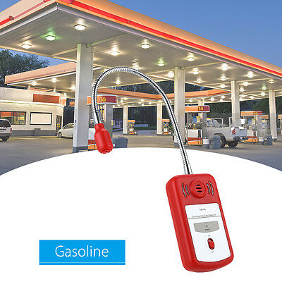 Combustible Gas Leak Detector Sensor Sniffer with Sound Light Alarm Tool Checker