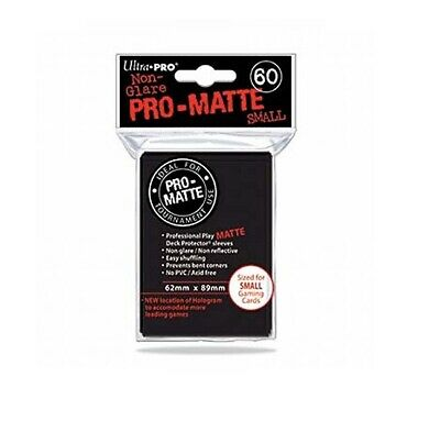 Ultra Pro Deck Protector - 60 Pro-Matte black e84021 Sleeves - Japanese Size