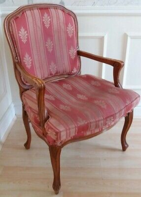 Vintage French louis style carver chair