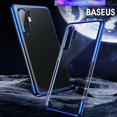 Baseus TPU Rugged Gel Phone Cover Case Protective Clear for Huawei P30 Pro