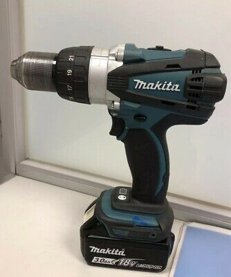 Makita DDF458 18v Drill With Two Batteries - no charger