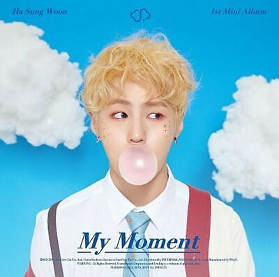 HA SUNGWOON WANNA ONE:MY MOMENT* CD+Full Package Poster (Inter ParK) Album K-POP