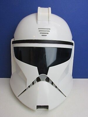 star wars CLONE TROOPER MASK helmet TOY cosplay dress up HAS SOUNDS kids 95D