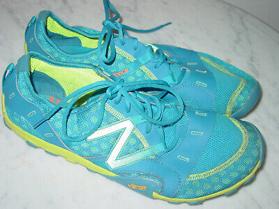 Mens New Balance Minimus MR10BY2 Blue/Yellow Running Shoes! Size 13