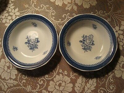 WEDGWOOD Springfield GEORGETOWN COLLECTION by Pattern BERRY BOWL Set/2
