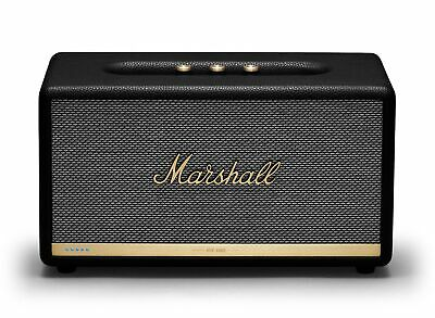 Marshall Stanmore II Voice Multi-room Speaker w/ Wi-Fi, Bluetooth, Amazon Alexa