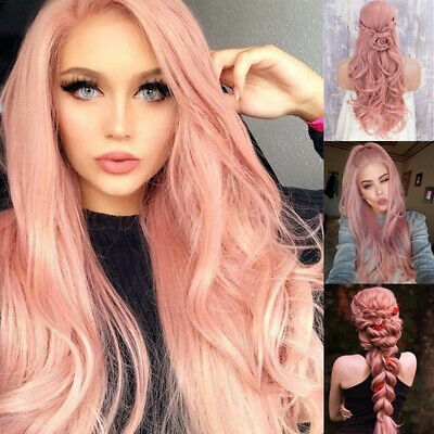Temperature Wire For Cosplay Halloween Costume Party Hair Full Wigs 65cm Length