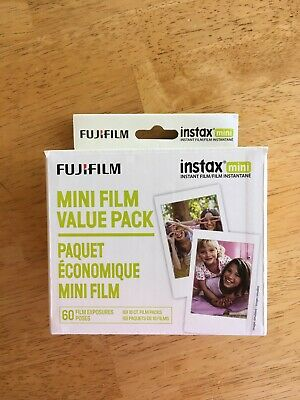 Fujifilm Instax Mini Instant Film Value Pack (3 Twin Packs, 60 Total Pictures)
