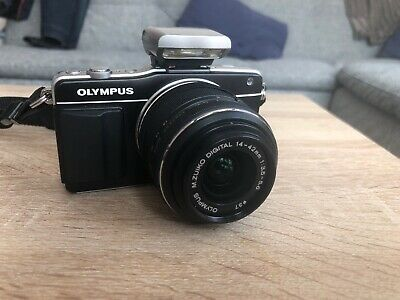 Olympus Pen mini E-PM2 Black digital compact camera 16MP MFT
