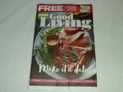 Asda Good Living Food Guide - February 2019, with George Home Magazine