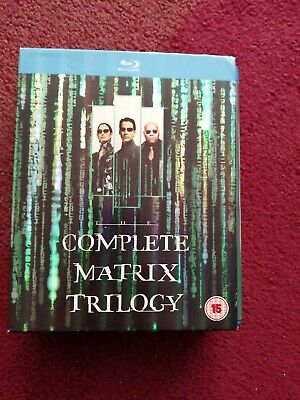 The Matrix - Trilogy (Blu-ray Boxset) Reeves Fishburne Sci-Fi Fantasy Action