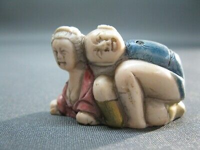 Erotik Netsuke   Erotika Japan China asiatisch  4 cm