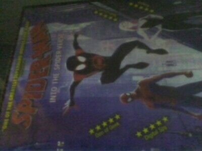 Spider-Man - Into the Spider-verse [DVD]new sealed free post