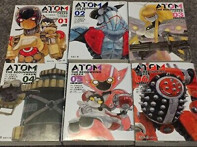 Official Chinese Translated Edition Manga ATOM The Beginning Volume 1 To 6
