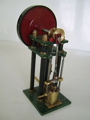 Interesting Model live steam engine -  part brass.