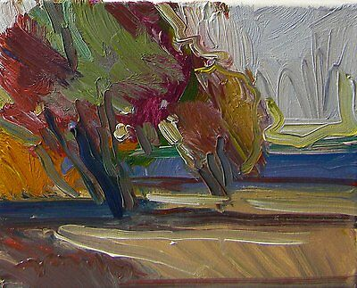 JOSE TRUJILLO Contemporary ORIGINAL OIL PAINTING Modern IMPRESSIONIST COLORIST