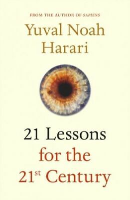 21 Lessons For The 21st Century Harari  Yuval Noah