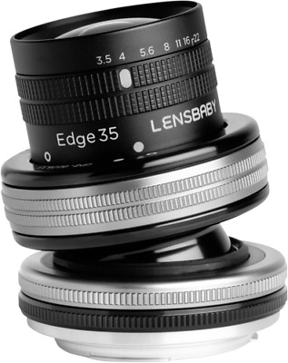 Lensbaby Composer Pro II incl. Edge 35 Optic Canon EF NEW